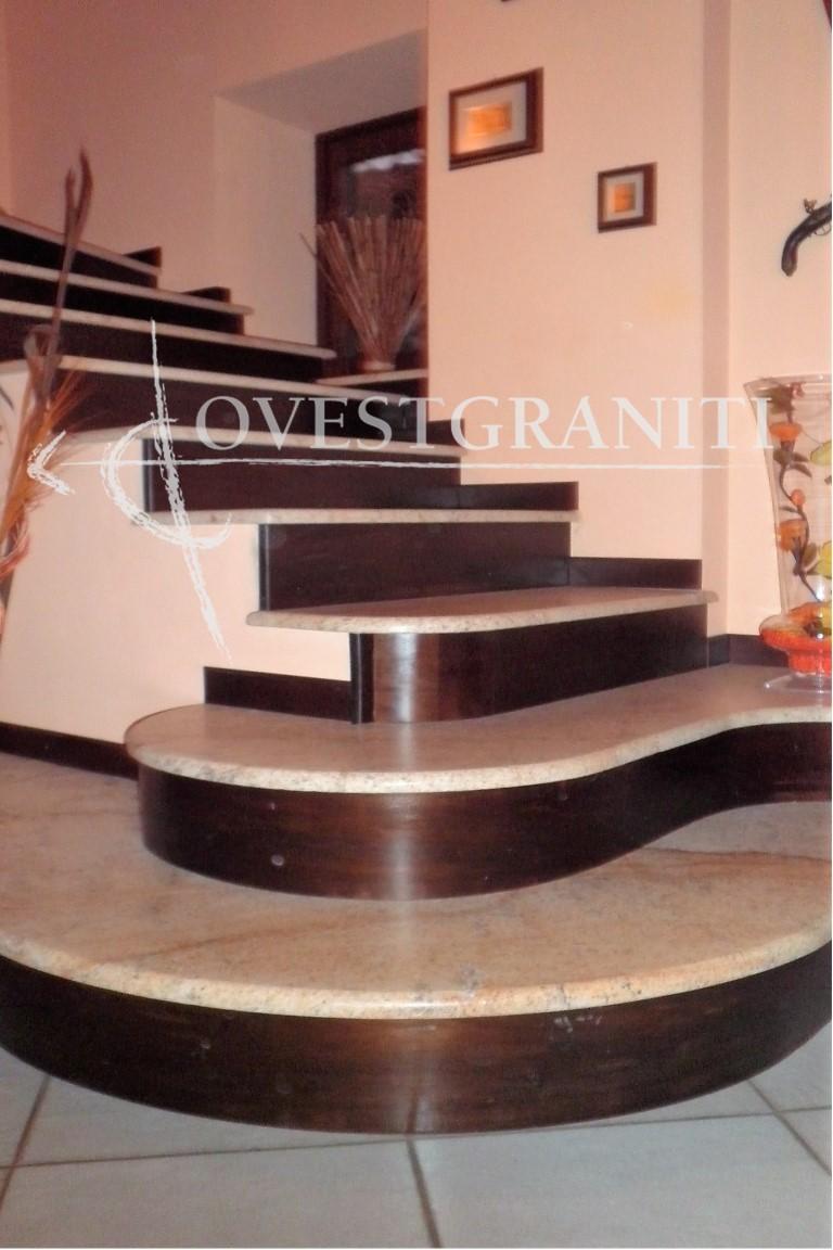 Ovest graniti piano fiammato scale - Granito per scale ...