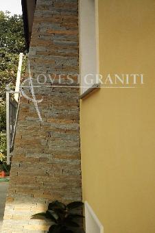 Ovest graniti piano naturale rivestimenti muri - Rivestimento canna fumaria esterna ...